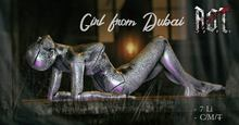R.O.T. - girl from Dubai silver box