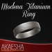 Akaesha's REALISTIC Diamond Ring (Model: Modena Titanium)