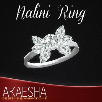 Akaesha's REALISTIC Diamond Ring (Model: Nalini)