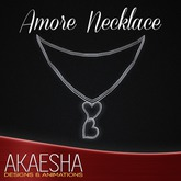 Akaesha's REALISTIC Silver Heart Necklace (Model: Amore')