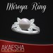 Akaesha's REALISTIC Diamond Ring w/ Pearl (Model: Mireya)