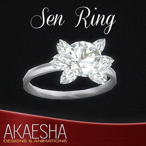 Akaesha's REALISTIC Diamond Ring (Model: Sen)