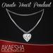 Realistic Diamond Necklace ♥ Heart Pendant ♥ Romantic Gift