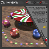 Ornaments Game Theme - THEME ONLY - REQUIRES PURCHASE OF COMPATIBLE GAME LICENSE