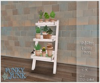 *Funky*Junk* Plant Wall Ladder{Boxed}