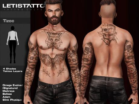 Letis Tattoo :: Tizoc :: Tattoo & Appliers