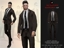 A&D Clothing - Suit -MonteCarlo- Coffee