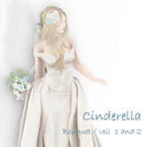 *N*Cinderella Veil & Bouquet set #Ble&S <VEND>