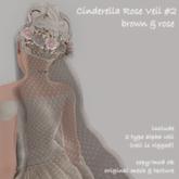 *N*Cinderella Veil #2 #B&R <VEND>