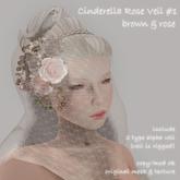 *N*Cinderella Veil #1 #B&R