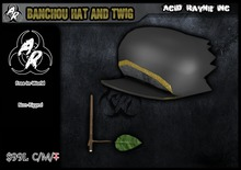 <Acid Rayne> Banchou Hat and Twig (Free In World!)