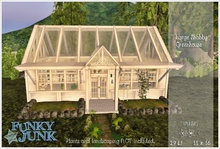 *Funky*Junk* Large Shabby Greenhouse {Boxed}