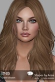 Ines Shape by Anna for Lelutka Head Greer