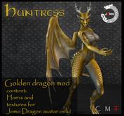 Wear Me - Jomo dragon mod  FEMALE- GOLDEN