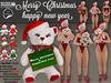 [SuXue Mesh] Christmas Teddy Bear -Transfer- (With HUD 6 Bears 6 christmas cards) 6 pose animate - Resize
