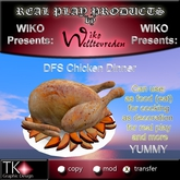 WIKO presents DFS Chicken Dinner * Many EP * YUMMY * Can eat, use for cooking, decoration ...