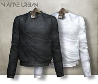 -Native Urban- Mallony Sweater Black&White