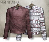 -Native Urban- Mallony Sweater Reds