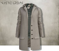 -NU- Rotterdam Coat Light Brown