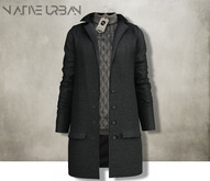 -NU- Rotterdam Coat Black