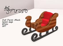 Art Studio - FULL PERM - Santa's sleigh [Gift]