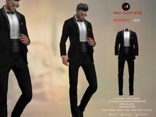 A&D Clothing - Suit -Monaco- Ebony