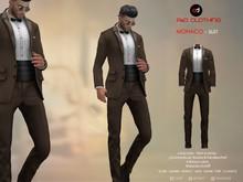 A&D Clothing - Suit -Monaco- Brown