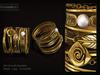 Kunglers   duda bracelets ad gold