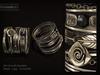 Kunglers   duda bracelets ad silver