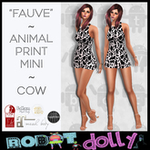 "RD - ""Fauve"" - Cow Print Mini"