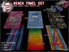 [Tampon Inside] Beach Towel Set