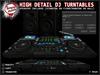 [Tampon Inside] High Detail DJ Turntables