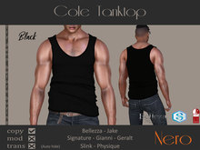 Nero - Cole Tanktop - Black