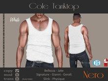 Nero - Cole Tanktop - White