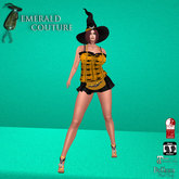 EC Batty Witch Outfit