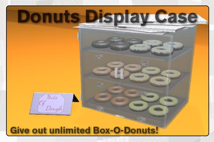 {UE} Box-O-Donuts Display Case