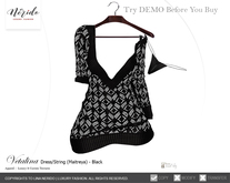 ~Nerido~ Vetalina Dress (Maitreya)-Black