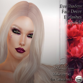 .:FlowerDreams:.Isabel make up set - violet DEMO