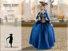MdM - Riding Habit - bleu (Maitreya)