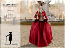 MdM - Riding Habit - rouge (Maitreya)