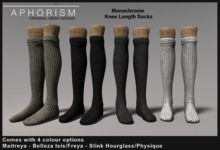 !APHORISM! Knee Socks - Colours