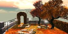 Autumn Garden (BACKDROP)