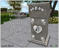 {Why Not?} Berwick Wedding Collection Lectern-Boxed