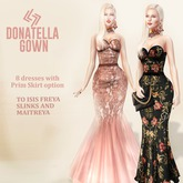 THE LEGENDAIRE DONATELLA GOWN