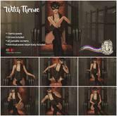 Fashiowl Poses - Witch Throne // BOX