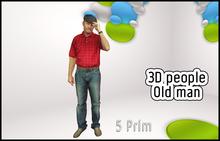 MESH PEOPLE -YO-old man