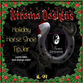 Christmas Horseshoe TipPic TipJar