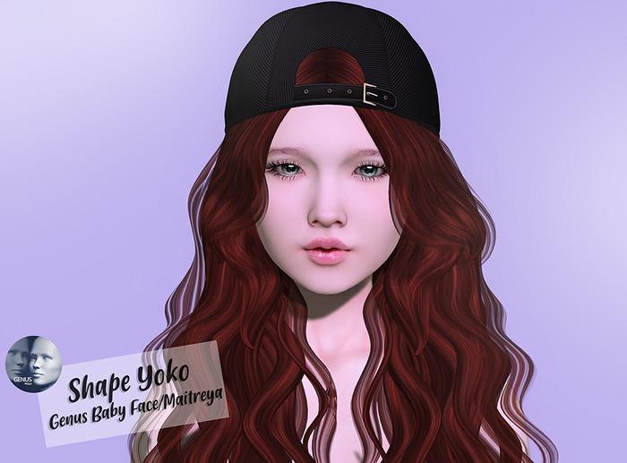 *Beyou* Shape Yoko (Genus Baby Face)