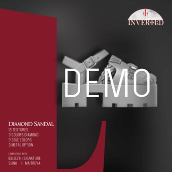 +INVERTED+ Diamond Sandal -DEMO-