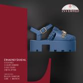 +INVERTED+ Diamond Sandal -Blue-
